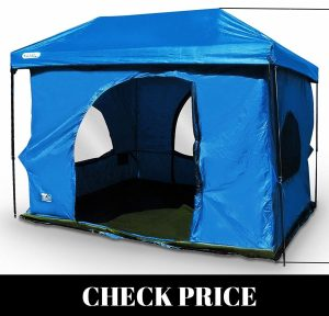 Standing Room family tent