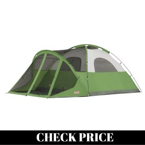 Best Waterproof tent with sunscreen
